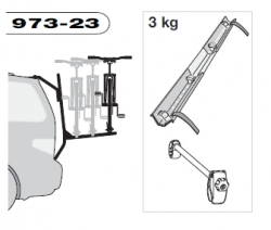 THULE 973-23 adaptér pro 3. kolo k nosiči 973 BackPac